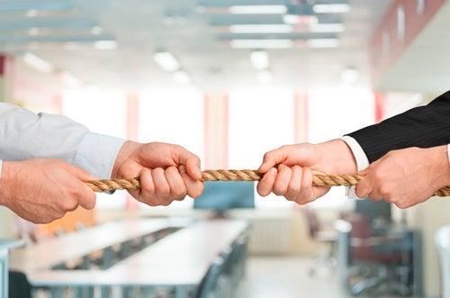cuerda simbolizando cómo resolver conflictos