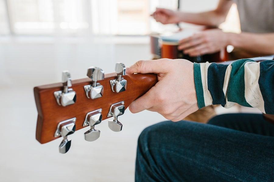 Las tres estrategias de aprendizaje y estudio en la guitarra