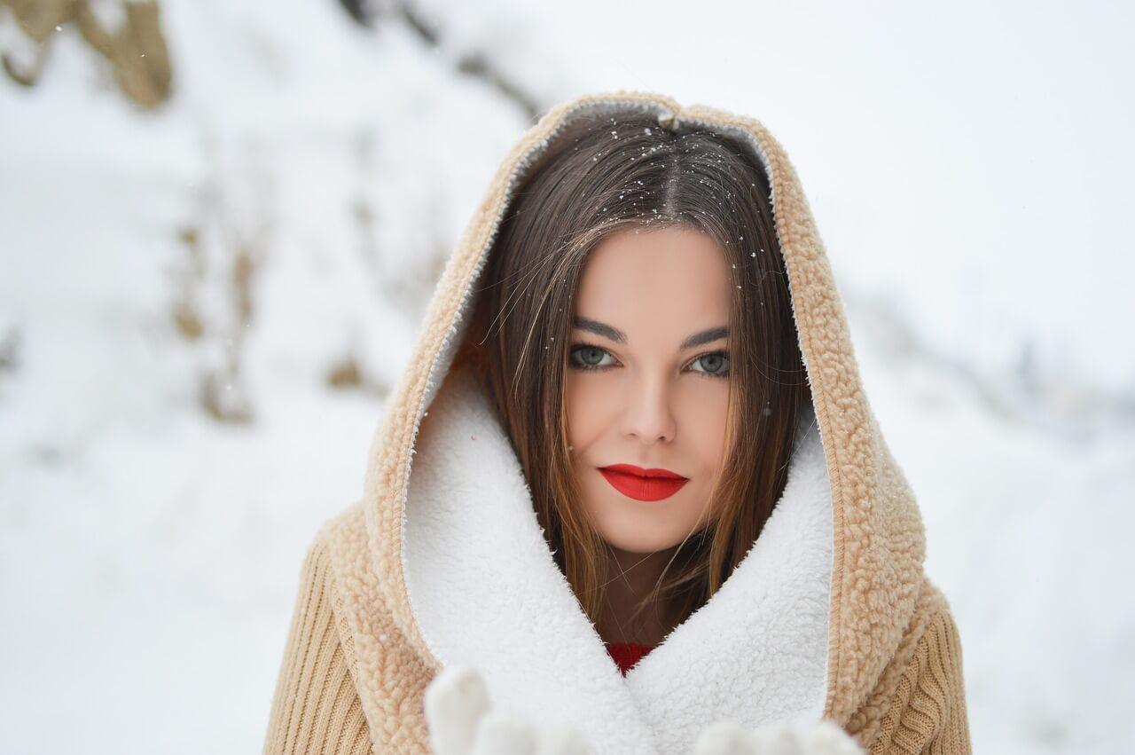 el maquillaje en invierno