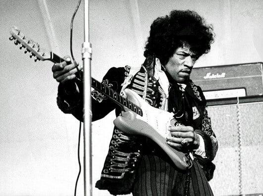 Los cinco guitarristas más famosos