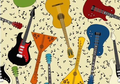 ¿Cuántos tipos de guitarras existen?