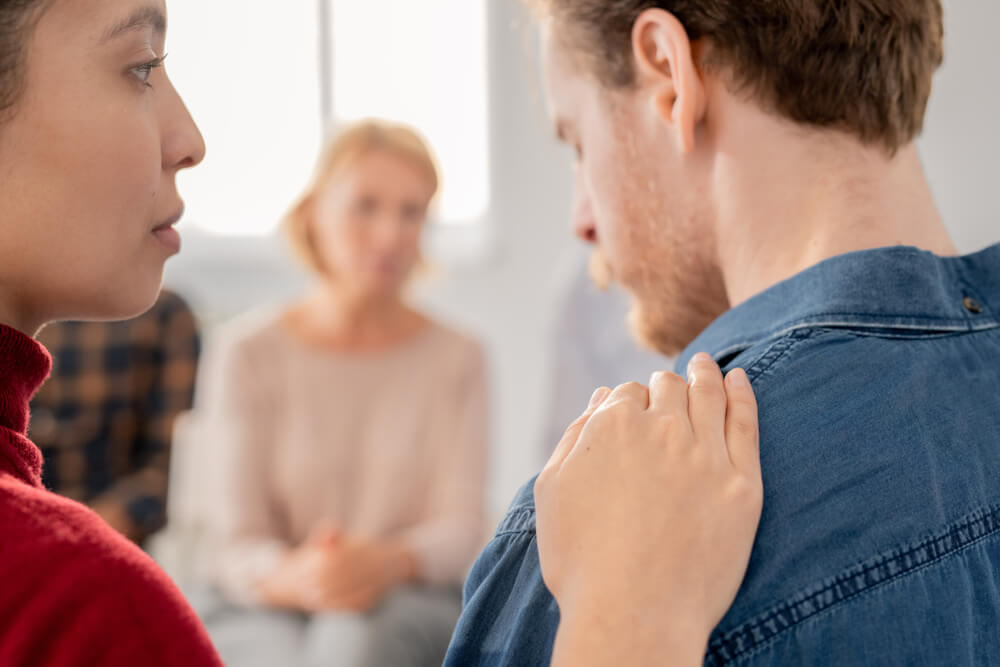 Grupo mostrando empatía