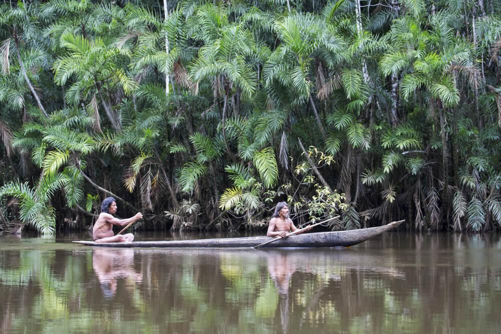 Canoa indígena