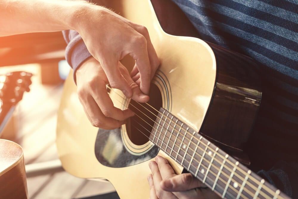 Ejercicio de guitarra