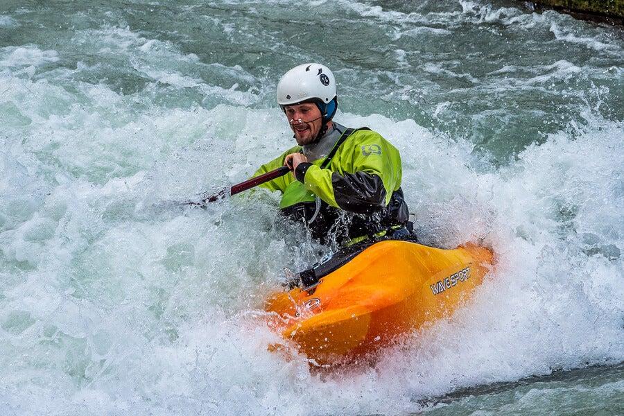 Kayak extremo: una modalidad para los más valientes — Unycos