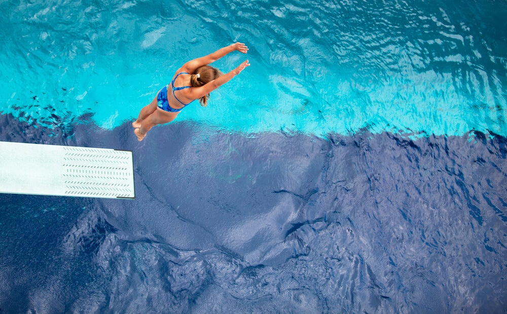 Salto en natación