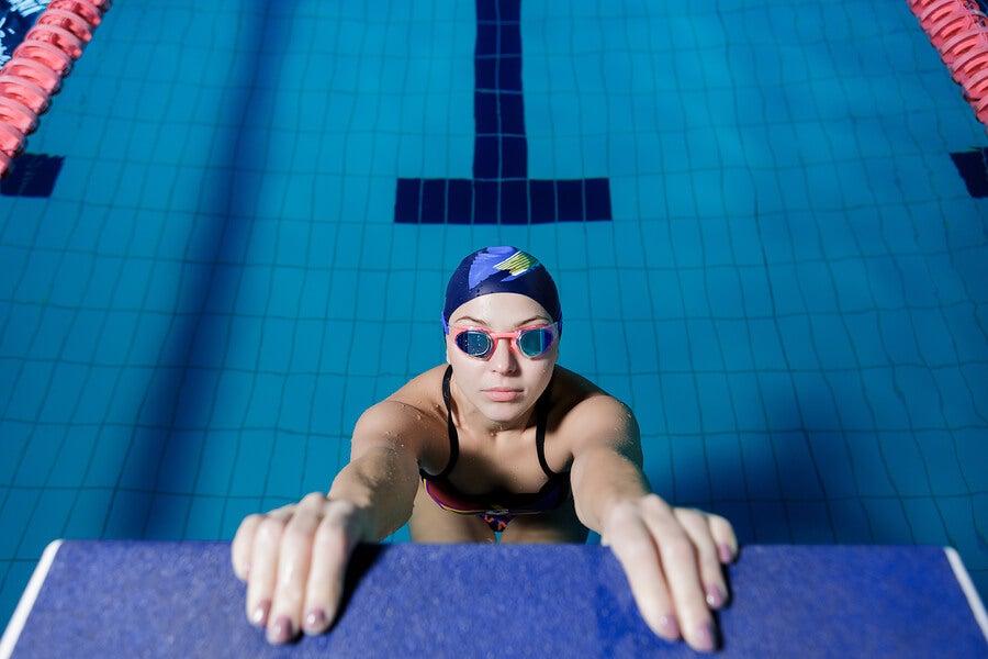 La salida en las competiciones de natación