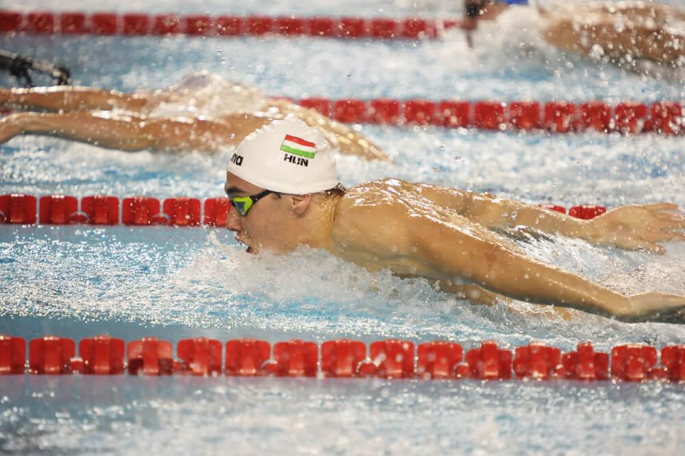 Kristof Milak, uno de los nadadores europeos de 2019