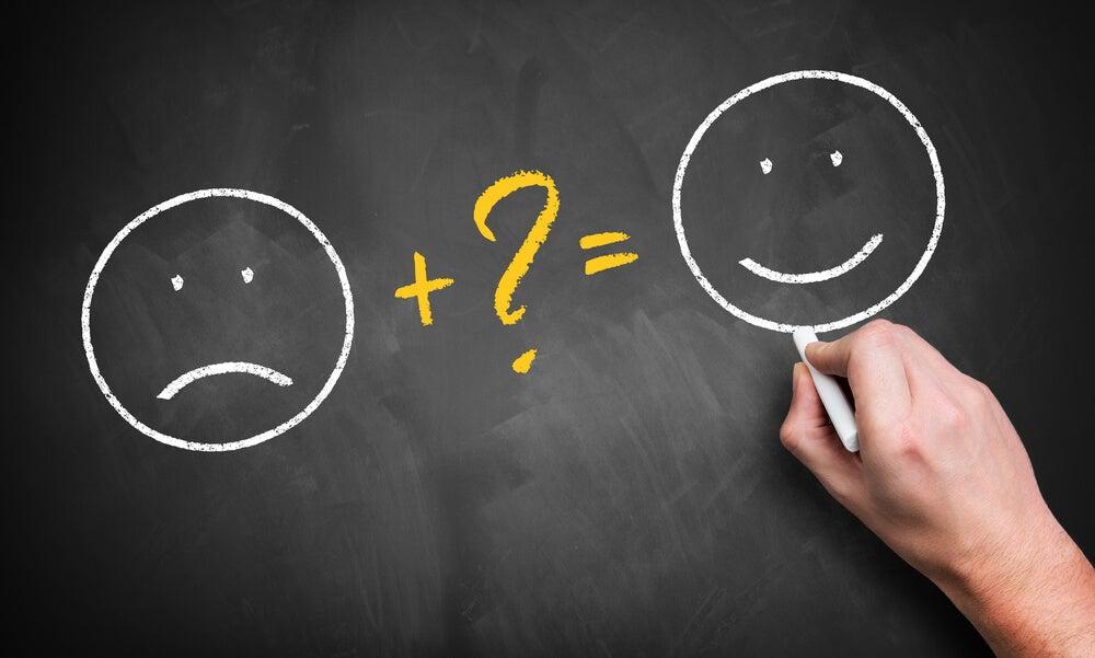 Iconos de pensamiento positivo