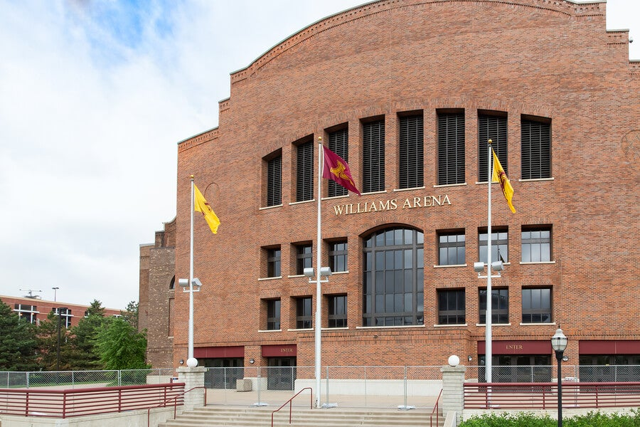 El Williams Arena, un recinto deportivo ubicado en Estados Unidos.