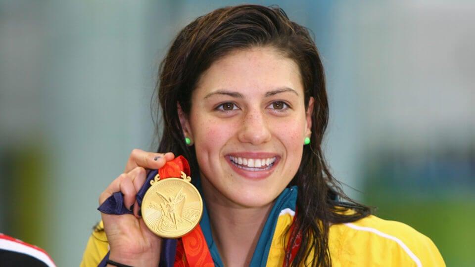 Stephanie Rice es una de las nadadoras destacadas de los últimos tiempos.