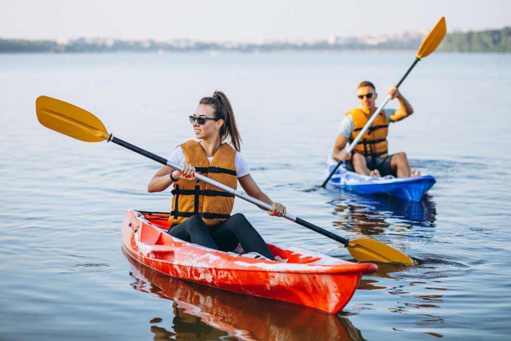 Lugares para hacer kayak en América