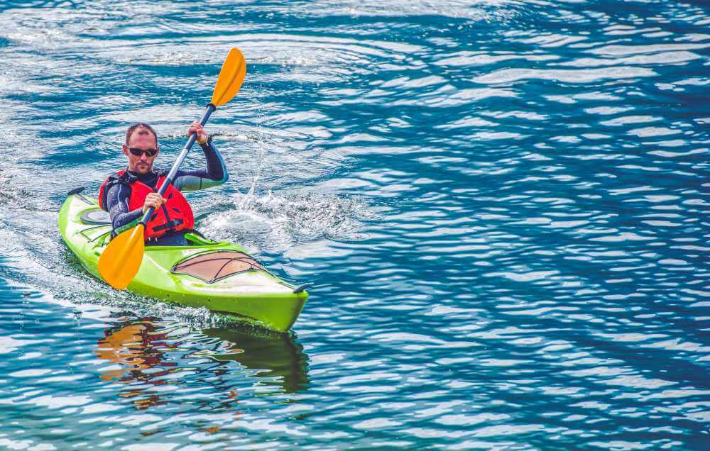 Realizar kayak en España