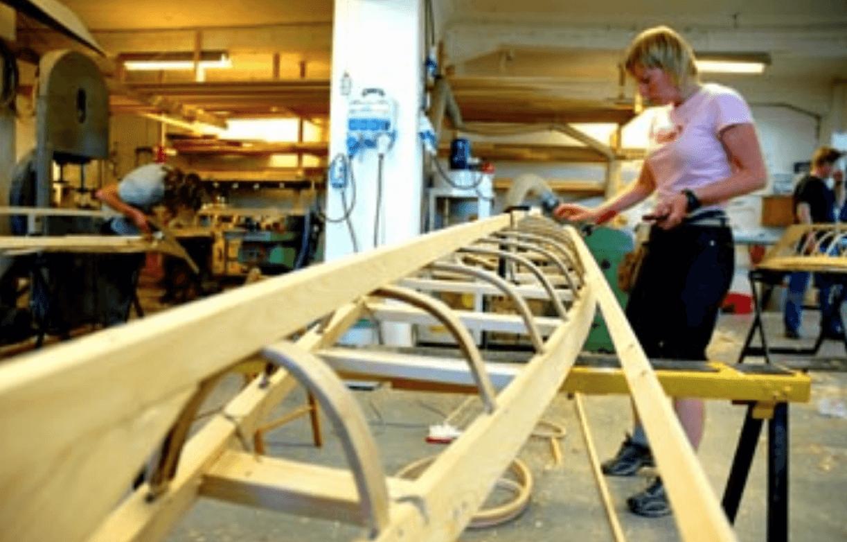 cómo se fabrica un kayak