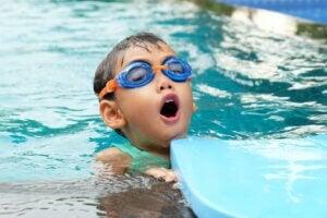enseñanza de la natación