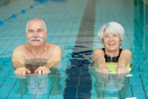Natación para adultos mayores