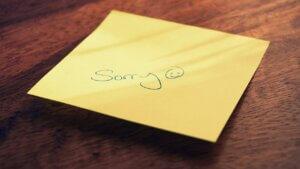 Cómo pedir perdón de forma eficaz