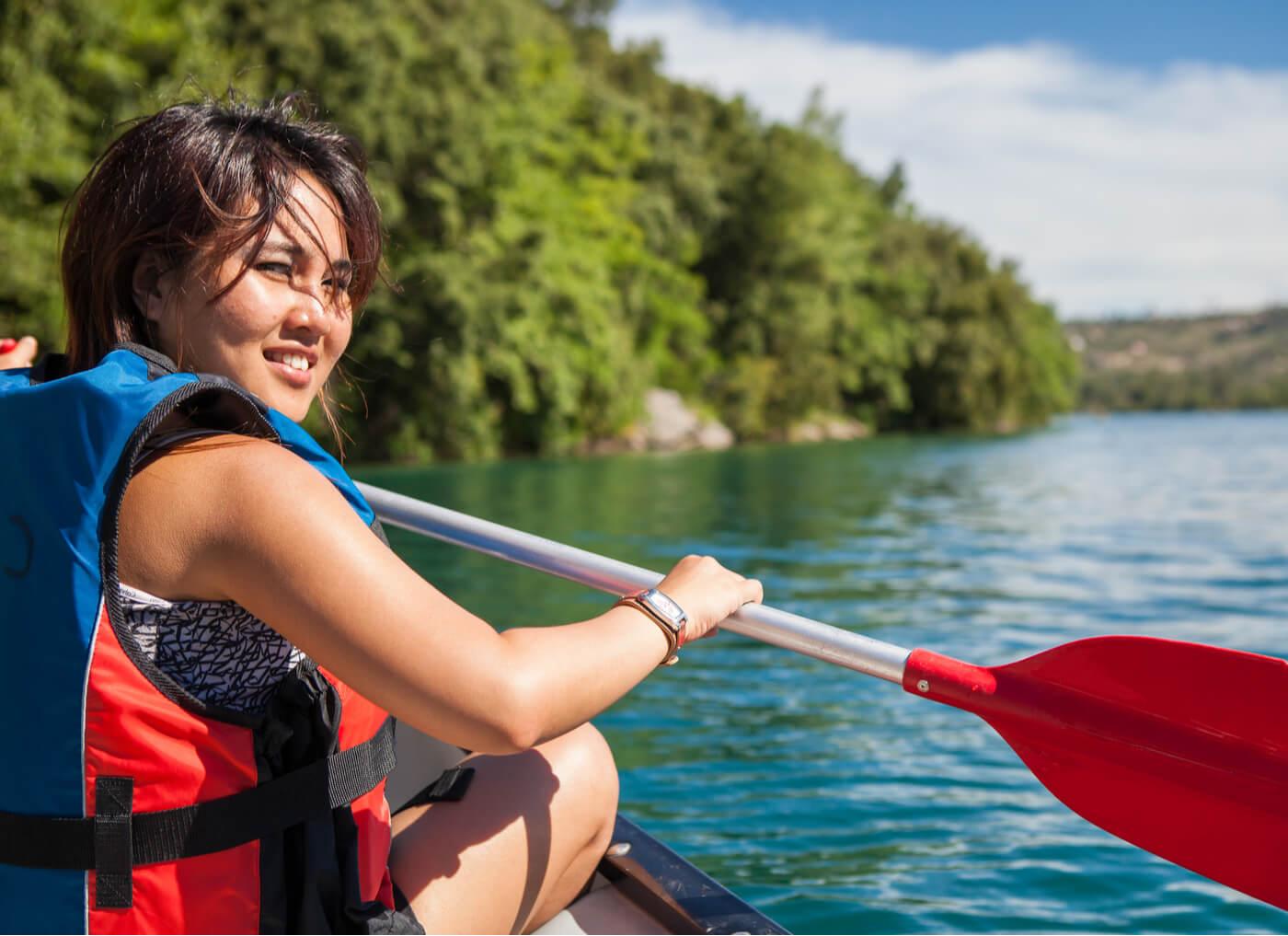 Kayak durante el embarazo, ¿es posible?