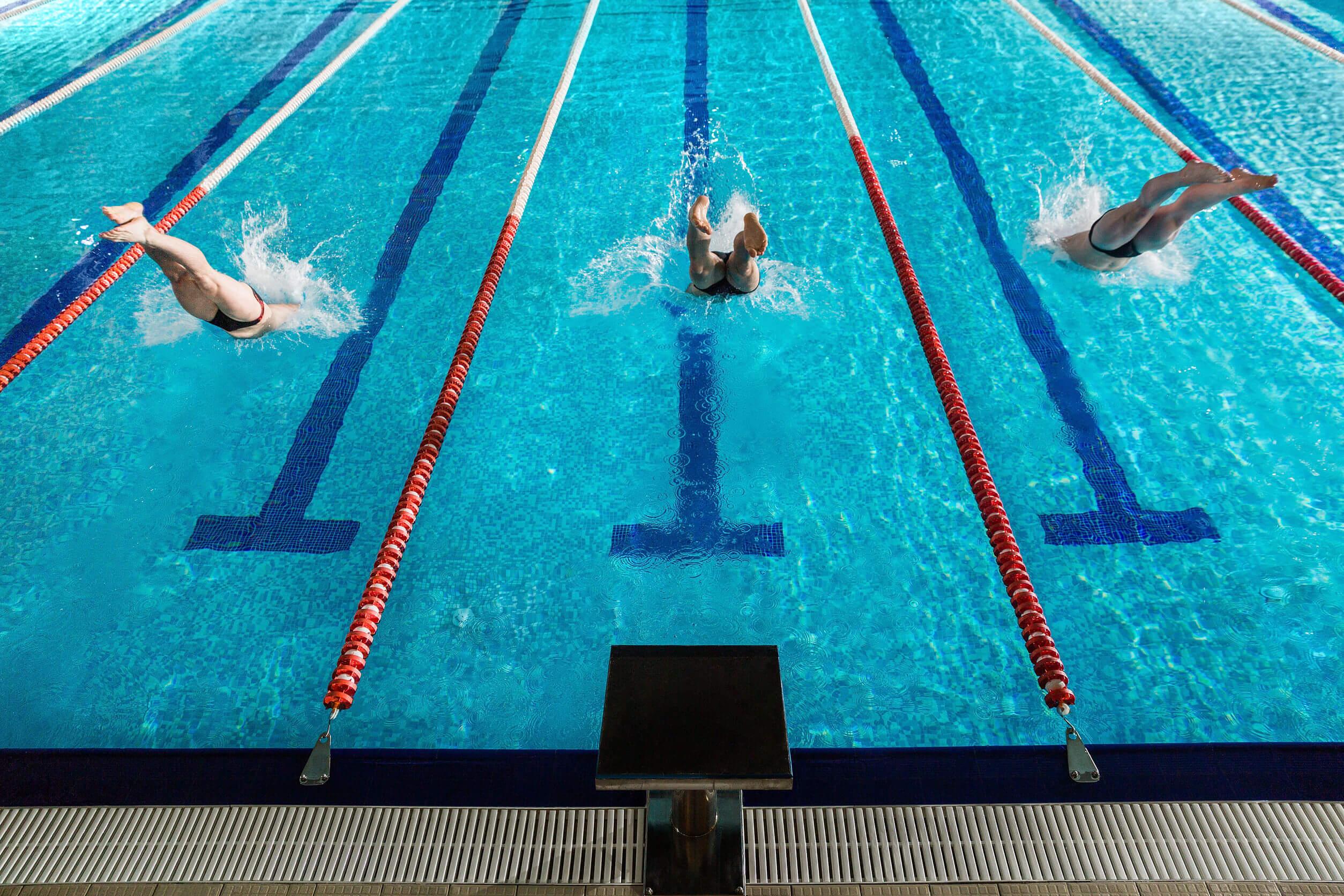 Pruebas de natación presentes en los Juegos Olímpicos