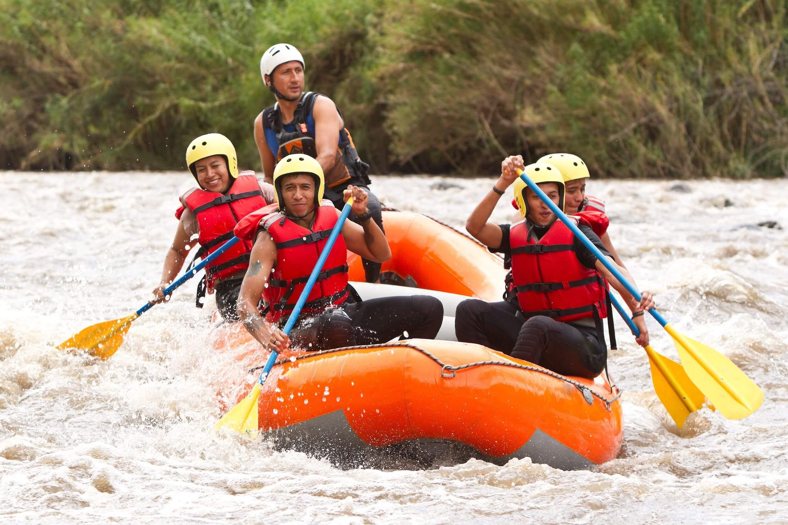 Recomendaciones a la hora de practicar rafting